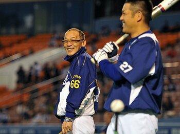 落合GM&谷繁監督のタッグは、日本版『マネー・ボール』となるか?<Number Web> photograph by Hideki Sugiyama
