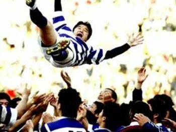 日本ラグビーの雄、吉田義人、新たな旅立ち。<Number Web> photograph by Shinsuke Ida