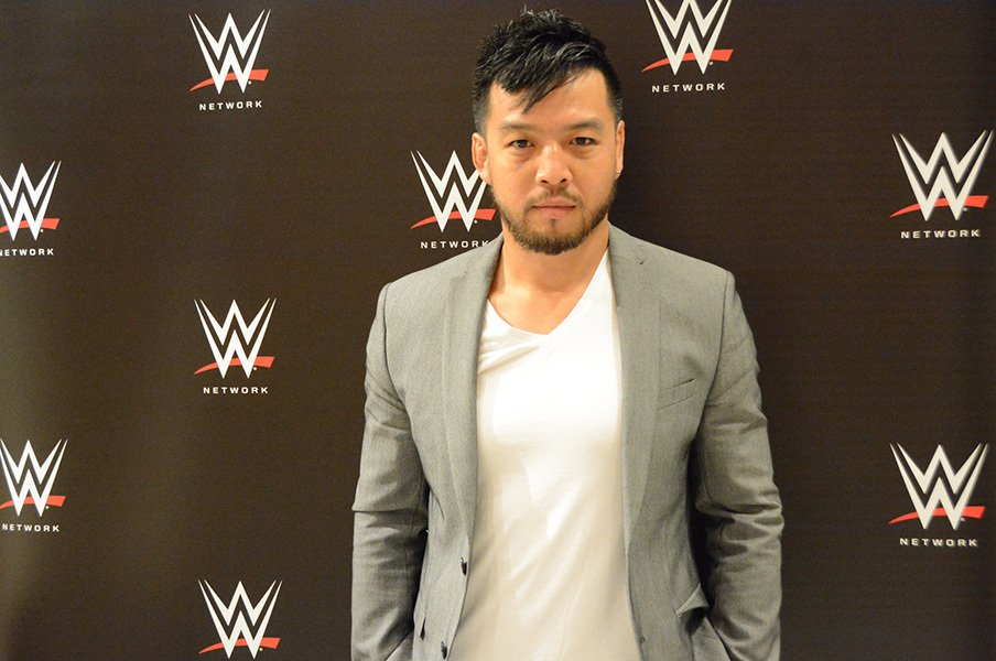 WWEで初凱旋のヒデオ・イタミ。無効試合に感じた苦悩と試行錯誤。<Number Web> photograph by Norihiro Hashimoto