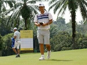 谷原秀人が欧州ツアーを回る理由。ゴルフ界では珍しい短パンも慣れて。