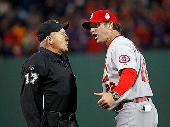 ビデオ判定の拡大は審判の権威を守れるか。~テクノロジー重視、MLBの決断~<Number Web> photograph by Yukihito Taguchi