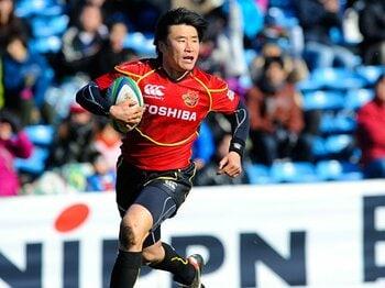 最年長トライ記録を更新。走り続ける41歳、松田努。~東芝、王座奪回への切り札~<Number Web> photograph by Yuka Shiga