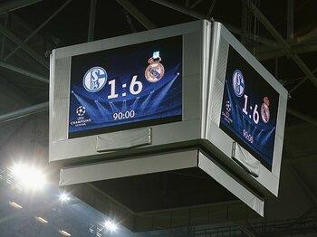 """レアルの大勝が露わにした、スペインとドイツの「差」。~""""サポーターの質""""を考える~<Number Web> photograph by Getty Images"""