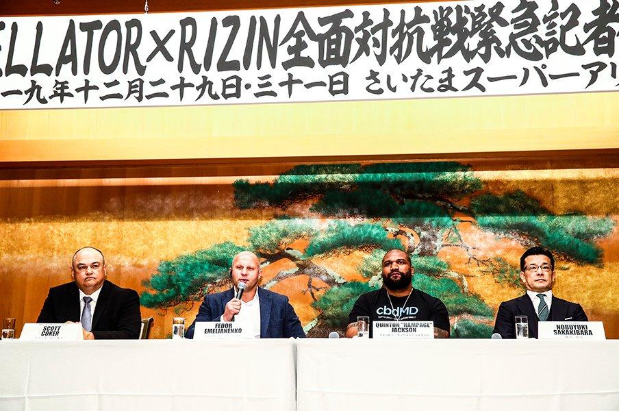 """ヒョードル出場に2大タイトル戦。年末格闘技は""""歴史と正攻法""""に期待!<Number Web> photograph by Susumu Nagao"""
