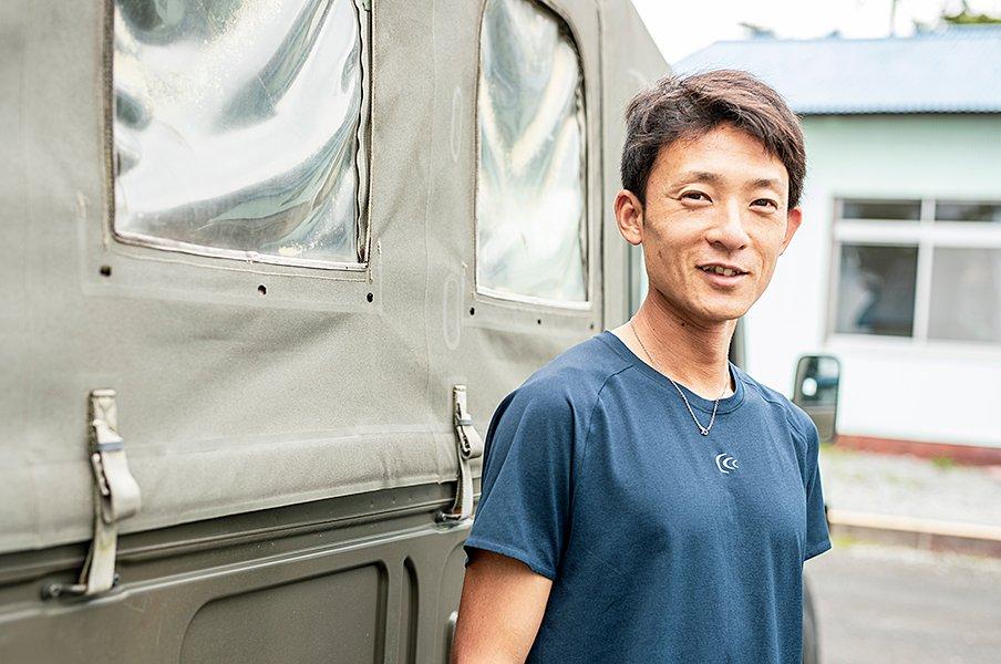 自衛隊に究極のストイックランナー。本業は装甲戦闘車の指揮と運転。<Number Web> photograph by Kiichi Matsumoto
