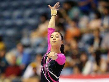 10代が躍進する体操女子。新エース候補は笹田夏実。~母と一緒にリオ五輪を目指して~<Number Web> photograph by AFLO