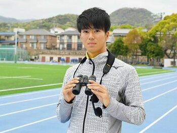 陸上・多田修平が語る100m観戦術。「中盤の加速を見てほしいですね」。<Number Web> photograph by Hideki Sugiyama
