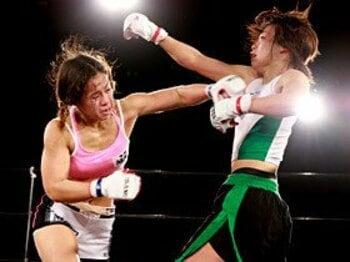「なのに」と無縁な女子格闘技、ハム・ソヒvs瀧本美咲の清々しさ。<Number Web> photograph by Takeshi Maruyama