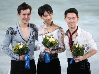 19歳、金メダルは新たなスタート!羽生結弦、日本男子初の五輪王者。<Number Web> photograph by Shinya Mano/JMPA