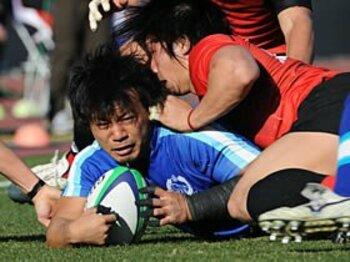 「打倒トップリーグ!」大学準V・東海大の挑戦。~日本選手権での番狂わせなるか~<Number Web> photograph by Yukihito Taguchi