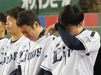 「慎二さんが来なかったらクビに」西武が涙で送った名コーチ・森慎二。<Number Web> photograph by Kyodo News