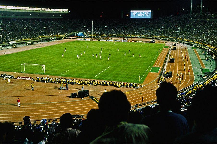 バブルと、Jリーグと、W杯。平成はサッカーの時代だった。<Number Web> photograph by AFLO