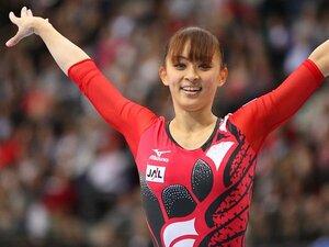 女子体操界に遅咲きの美しき選手が!気品ある演技で魅せた田中理恵。