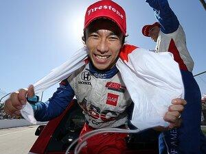 佐藤琢磨、インディ初V。ピースが揃った80周。~経験を生かした52戦目での快挙~