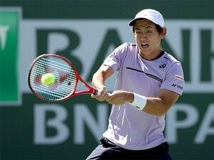 西岡良仁は男子テニス界の個性だ。身長170cmでトップ100という自負。