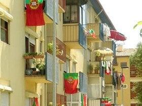 ポルトガルのお披露目会となったユーロ2004