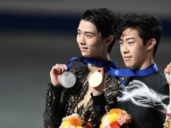 羽生結弦とネイサン・チェンの美。世界選手権で語り継がれる名勝負。<Number Web> photograph by Asami Enomoto