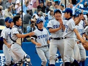 平成22年秋に早稲田大・斎藤佑樹を下して以来、4年半ぶりの白星。