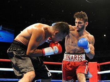 8月のサンチェス戦では3度ダウンを奪い、TKO勝利を飾ったリナレス。
