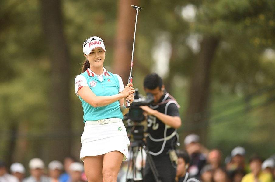 韓国女子ゴルファーには勝てない!?キム・ハヌル、イ・ボミらの壮絶秘話。<Number Web> photograph by Getty Images
