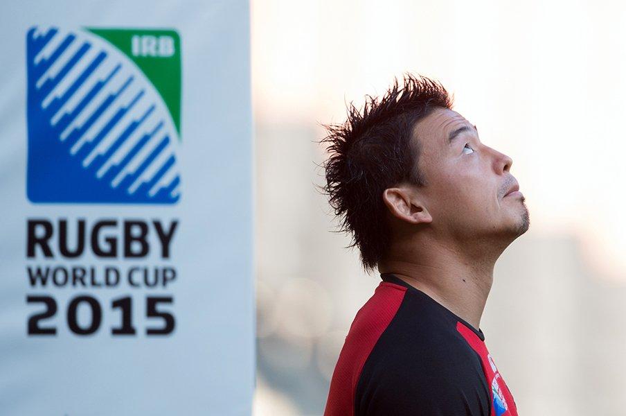 2015年ラグビーW杯での極限状態……。五郎丸歩はなぜ安定していたのか。<Number Web> photograph by AFP/AFLO