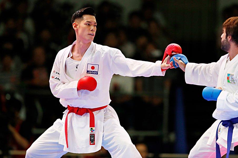 空手界のプリンスが武道館で優勝。西村拳は東京五輪の金に突き進む。<Number Web> photograph by AFLO