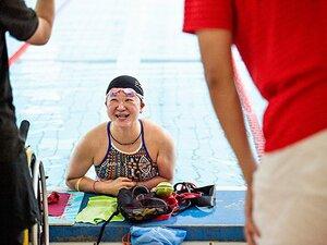 パラ水泳・成田真由美。現役を続ける理由と東京2020への思いを修造に語る。
