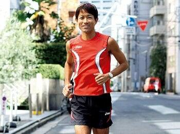 <私とラン> 市民ランナー・山口正史 「ダイエットの手段がいつしか生きる目的に」<Number Web> photograph by Atsushi Hashimoto