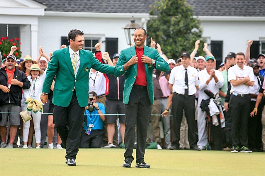 ウッズが得た「一番幸せな優勝」。なぜ彼の雰囲気は変わったのか。<Number Web> photograph by AFLO