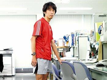 <私とラン> 市民ランナー・篠原充 「2時間25分の記録を持つ走るテレビマン」<Number Web> photograph by Atsushi Hashimoto