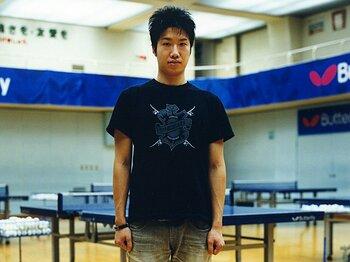 <日本卓球の至宝、覚悟の告発> 水谷隼 「世界の卓球界を覆う違法行為を僕は決して許さない」<Number Web> photograph by Takanori Ishii