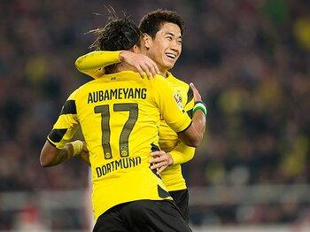 リーグ3連勝、ドルトムントに光明。香川が語る、CLユベントス戦の意味。<Number Web> photograph by Getty Images