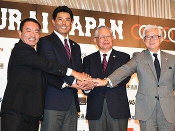 稲葉篤紀監督を支える体制は万全か?サムライJ、責任の所在無きままの船出。<Number Web> photograph by SAMURAI JAPAN via Getty Images