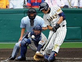 帝京が見せた優勝候補のプライド。敵エースの決め球を攻略しろ!<'09年夏の高校野球レポート><Number Web> photograph by NIKKAN SPORTS