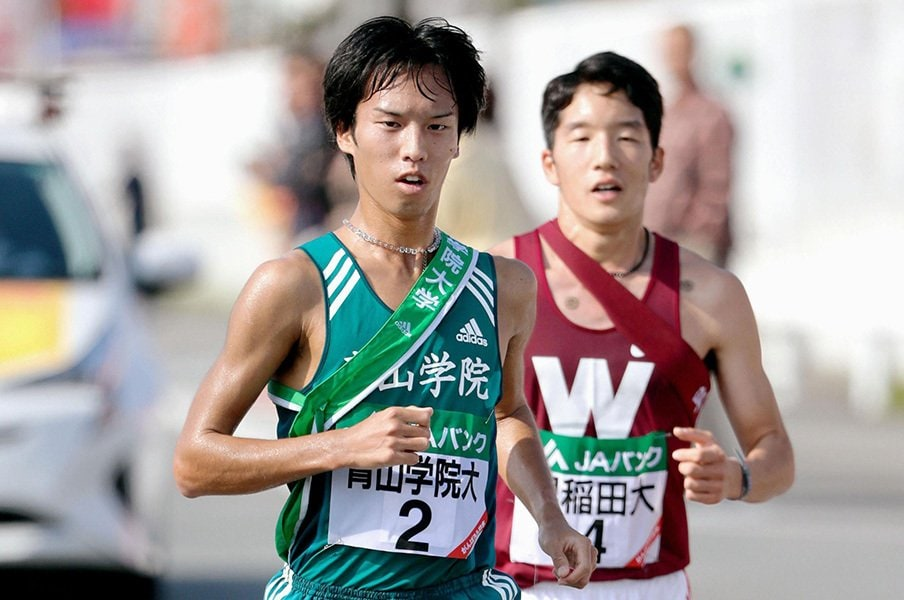 箱根で早稲田は青学を倒せるのか。実は選手層の厚さでは最強クラス!<Number Web> photograph by Kyodo News