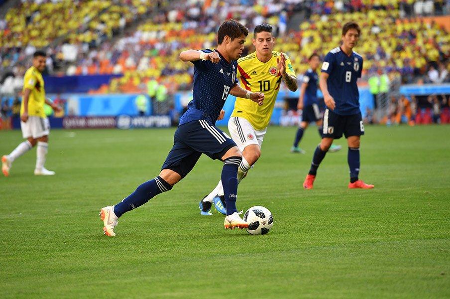 オシムが喜んだのは勝利だけでない。「香川は円熟の境地。酒井は力強い」【2018年 サッカー部門1位】<Number Web> photograph by Kaoru Watanabe/JMPA