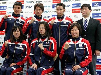 日本水泳、惨敗からの躍進。強い「チーム」のつくり方とは。<Number Web> photograph by Getty Images