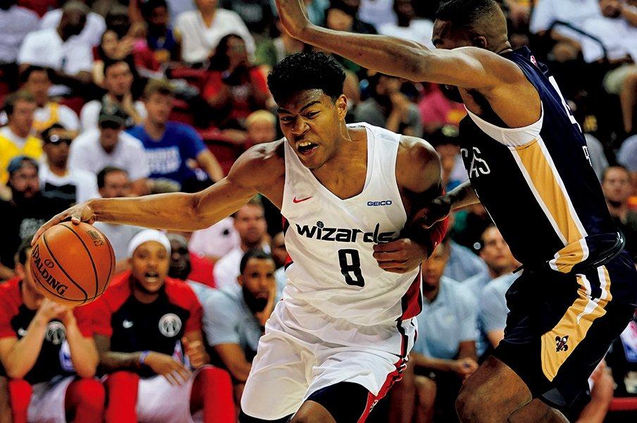 <NBA2018-2019>八村塁「僕は何でもできるから」<Number Web> photograph by Yukihito Taguchi