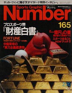 プロスポーツ界『財産白書』 - Number165号
