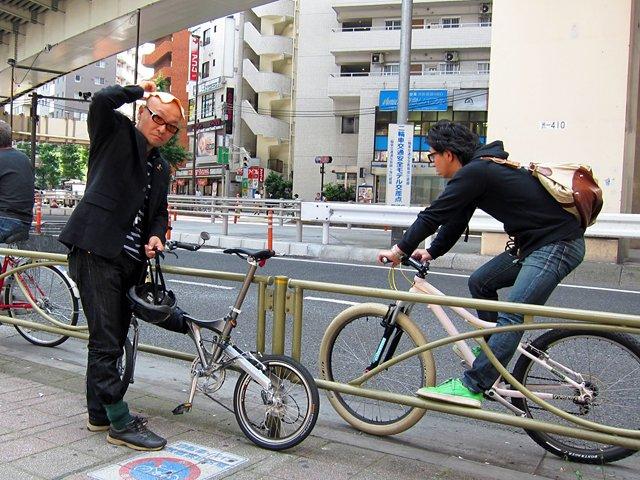 自転車の 自転車 通勤 服装 夏 : !?自転車ツーキニストの服装 ...