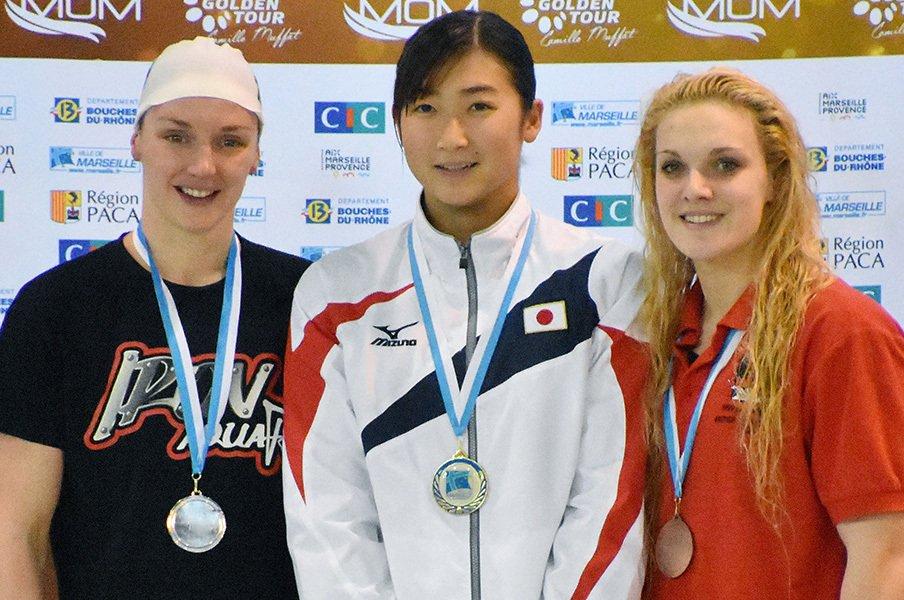 池江璃花子、リオ後1年での急成長。泳ぎに泳いで見え始めた世界の頂点。<Number Web> photograph by Kyodo News
