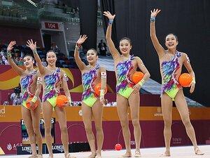 """新体操日本代表が欧州勢破り金メダル。""""恋""""の指導やルール変更も追い風に。"""