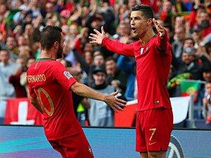 ロナウドが代表通算7度目のハット。ポルトガルが真の欧州王者に王手。