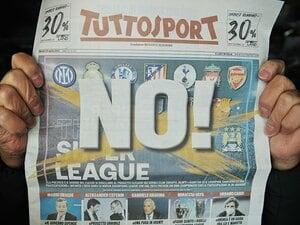 欧州SL崩壊後もセリエAが大モメ… ユーべサポ「恥を知れ」、マルディーニ「自分は蚊帳の外」、UEFAに楯突くコンテ、怒りのプロビンチア