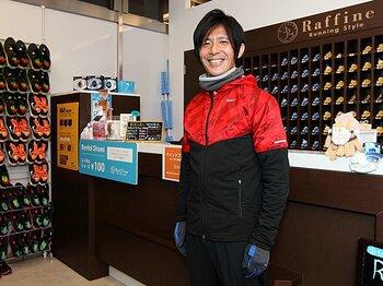 <マラソン> 東京マラソンのガードランナーを務めた木村ヤストさんに、本番に出場できない人の楽しみ方を聞いた。<Number Web> photograph by Sports Graphic Number