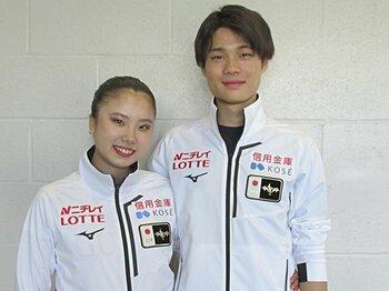 日本のアイスダンス界に新星!15歳吉田唄菜&17歳西山真瑚。<Number Web> photograph by Akiko Tamura