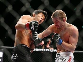 "UFC4連勝で世界が注目。水垣偉弥が貫く""我が道""。~知られざるインテリ総合格闘家~<Number Web> photograph by Susumu Nagao"