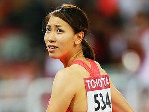 福島千里、決勝ならずも復活の気配。100m予選の「悪いところがない」走り。