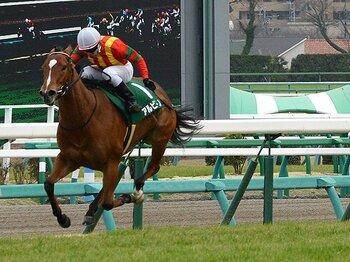 桜花賞不出走の快速牝馬が登場。気鋭のトレーナーが挑むNHKマイルC。<Number Web> photograph by NIKKAN SPORTS