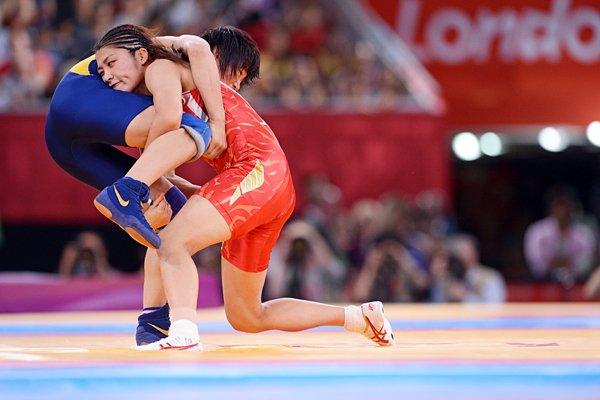 圧倒的な力を見せつけた伊調馨。~ロンドン五輪2012~